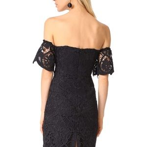 BB Dakota Black Crochet Dress - Size 6